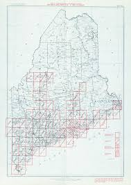 University Of Maine Map Maine Historical Topographic Maps Perry Castañeda Map Collection