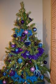 blue and peacock christmas tree 40 a blue blue christmas