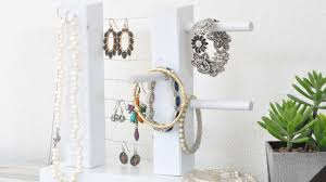 diy jewelry organizer it doubles as wall decor anika u0027s diy life