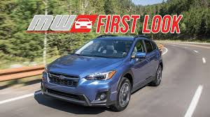 subaru crosstrek 2018 colors first look 2018 subaru crosstrek time to trek youtube