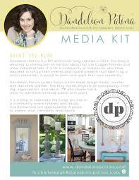 media kit dandelion patina
