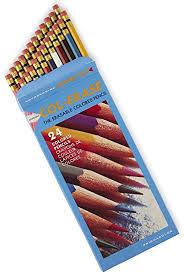 prismacolor pencils prismacolor col erase erasable colored pencils 24