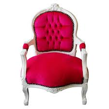 Bright Armchair Fun Bright Pink U0026 White Child Armchair Baroque Style Living Room