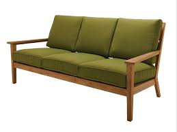 teak outdoor sofa with aman dais teak loveseat set westminster