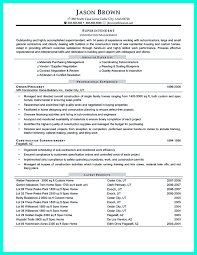 project manager resume construction superintendent templa saneme