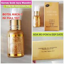Serum Gold ulasan produk serum emas whitening serum gold q collections