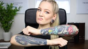 visible tattoos vs employment youtube