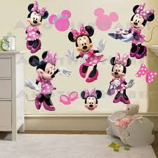 minnie mouse wall decal room decor details minnie mouse wall decal