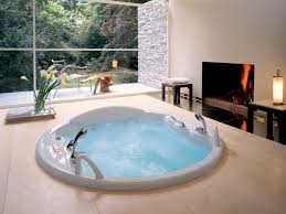 bathroom enjoyable japanese style in floor jacuzzi tub plus