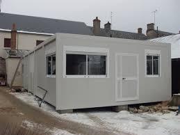 bureau préfabriqué occasion modulobase construction modulaire préfabriquée