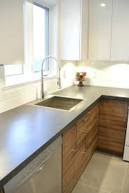 cuisine effet bois comptoir de cuisine blanc armoire de cuisine blanc lustr et
