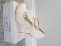 ivory wedding shoes size 6 local classifieds buy and sell in