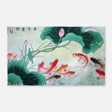 Koi Outdoor Rug Koi Fish Rugs Koi Fish Area Rugs Indoor Outdoor Rugs