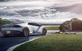Lamborghini Huracan White Black Rims - download wallpaper 3840x2400 lamborghini huracan lp640 4 white