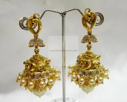gold jhumka earrings design with price gold earrings gold rings 22kt gold jhumka gold jhumka with