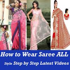 Mumtaz Style Saree Draping How To Wear Saree All Indian Different Style Video Android Apps