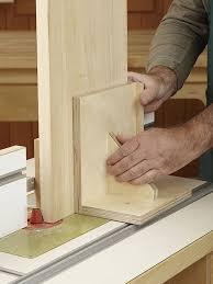 router table pushblock woodworking plan vertical panel raising
