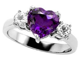 amethyst heart rings images For your valentine 15 designer engagement rings designtoptrends jpg