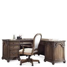 riverside belmeade executive desk 15832 riverside furniture belmeade l desk and return oak