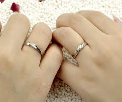 simple wedding bands simple wave designed s wedding rings set in 925 sterling