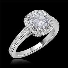 moissanite vintage engagement rings vintage cut moissanite engagement ring 1 50 carat