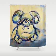 Teddy Shower Curtain Teddy Shower Curtains Society6