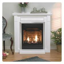 Vent Free Lp Gas Fireplace by Vail 24 Corner Vent Free Fireplace With Logs Remote Option Lp Or
