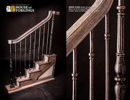new staircase styles on display