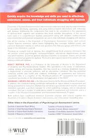 dyslexia writing paper essentials of dyslexia assessment and intervention essentials of essentials of dyslexia assessment and intervention essentials of psychological assessment amazon co uk nancy mather 9780470927601 books