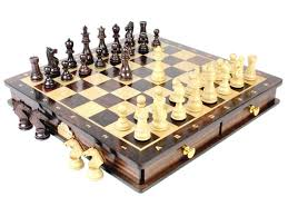 magnetic chess set pieces rose wood galaxy staunton king size 3