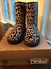 womens boots size 9 10 ugg australia cheetah boots womens size 9 10