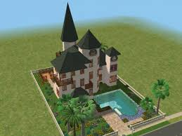 mod the sims boulevard martinique french colonial style manor