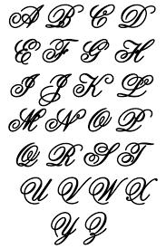 different style alphabet letters fancy capital l triple