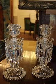 candelieri cristallo coppia di candelieri cristallo baccarat modello medaglione