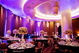 lighted centerpieces for wedding reception ballroom wedding reception with tall centerpieces in ivory and light