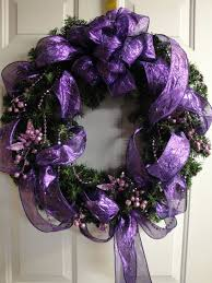 71 best purple wreaths images on pinterest purple wreath spring
