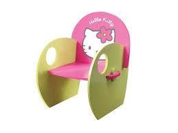 chaise de bureau hello fauteuil enfant en laqué hello et vert 53492