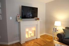 faux fireplace mantels interior design