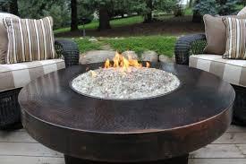 Gas Fire Pit Table Sets - convert gas patio fire pit table patio fire pit table and chairs