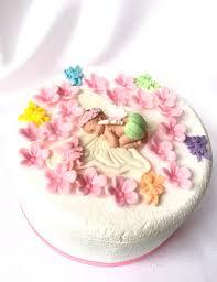 baby shower cake toppers girl 26pcs fondant flowers fairy baby shower cake topper girl