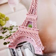 eiffel tower table decorations wedding centerpieces table centerpiece decor pink 3d