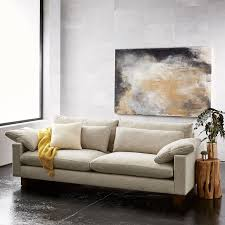 west elm harmony sofa reviews harmony down filled sofa 92 west elm
