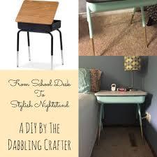 Small School Desk by Nightstand Mesmerizing Mirrored Nightstand Furniture Diy Mirror