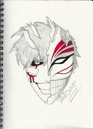 ichigo kurosaki hollowfication by merciangel on deviantart