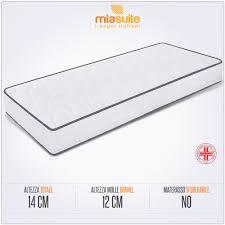 materasso singolo a molle materasso a molle singolo modello export h14 miasuite