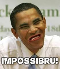 Obama Face Meme - obama impossibru meme face