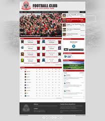 free website templates dreamweaver 30 soccer club website themes templates free premium templates football club website template