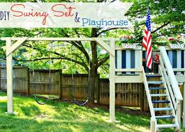 Backyard Swing Set Plans by 7 Best Swingset Images On Pinterest Backyard Ideas Games And