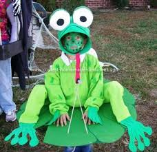 Frog Halloween Costumes Coolest Frog Costume Frogs Costumes Homemade