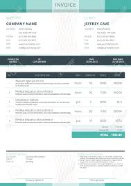 Roofing Invoice Sample Simple A4 Invoice A4 Paper Fonts And Invoice Template